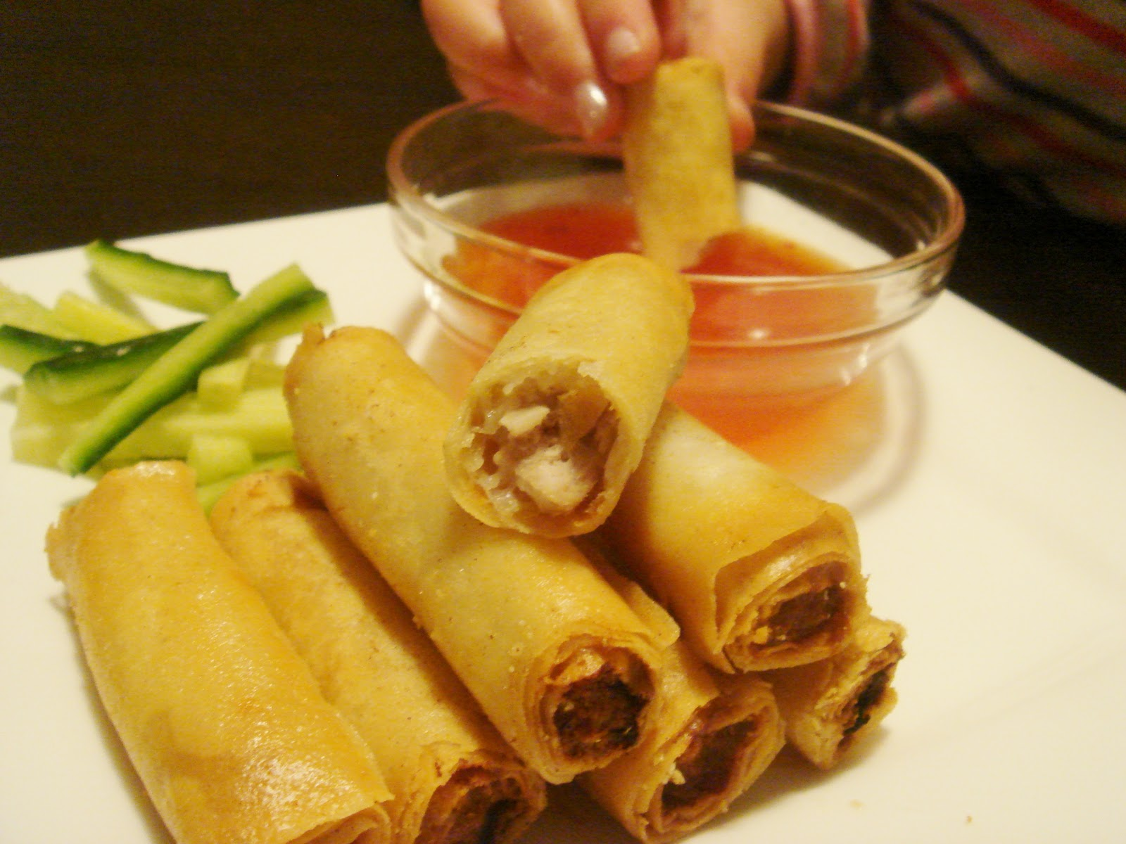 Lumpiang Shanghai is a favourite amoungst all Filipinos, most ...
