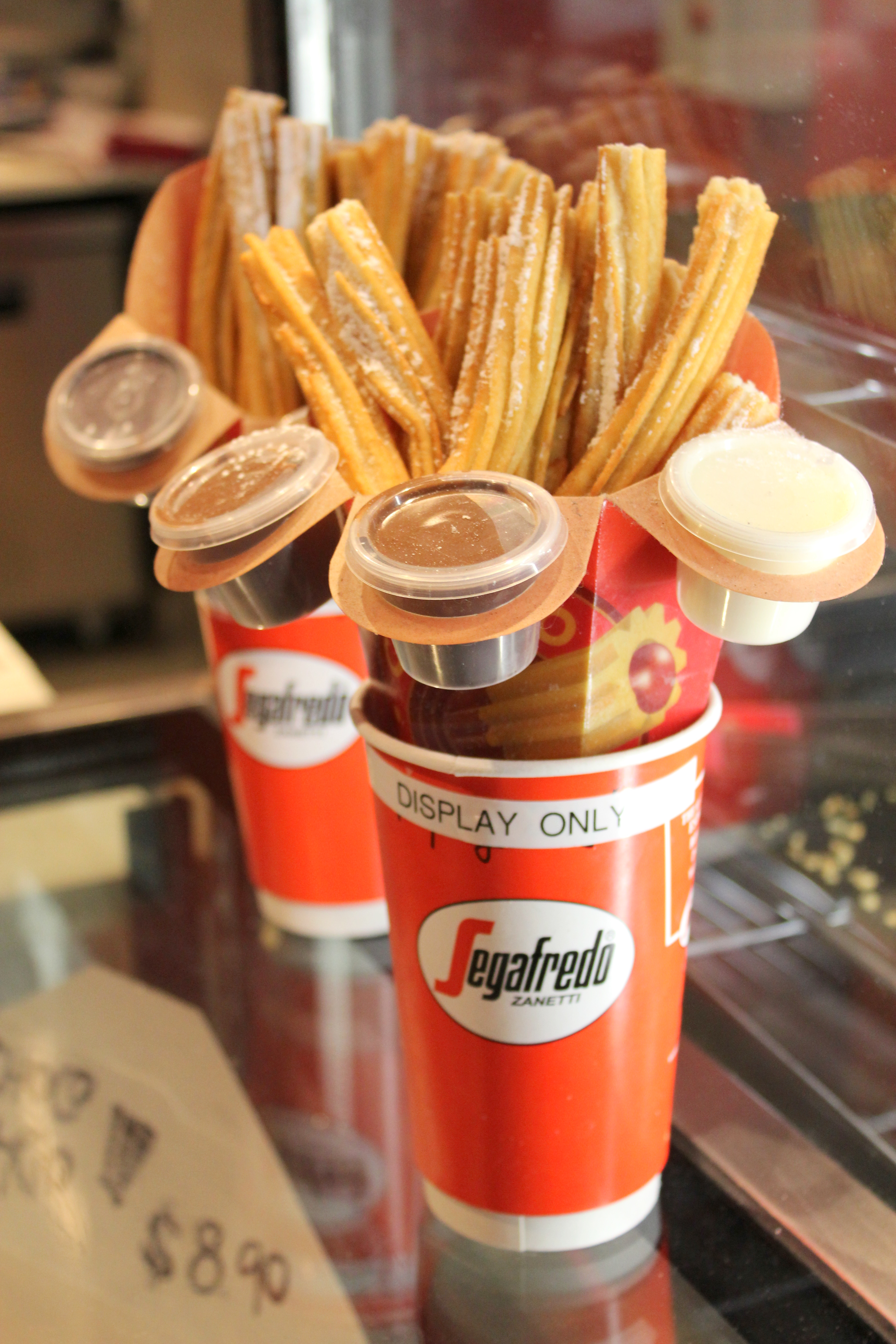 fresh made churros and donuts churro churros is your current churro ...