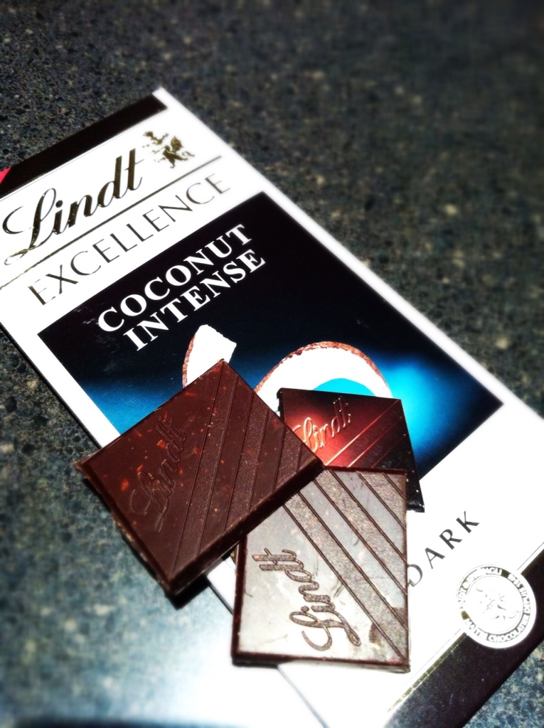 Lindt Excellence Coconut Delight recipe by Thomas Schnetzler ...