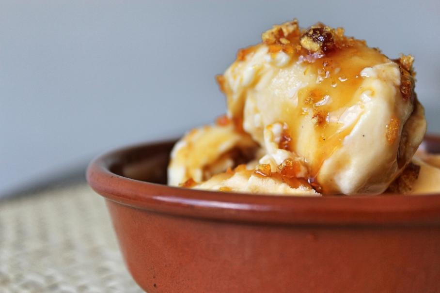leche flan ice cream