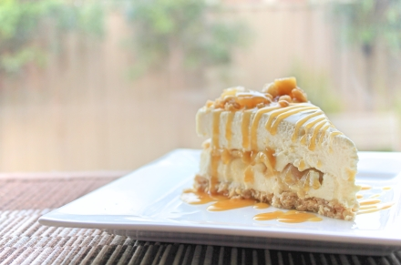 Spiced Apple Crumble Cheesecake2
